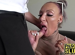 Super milf succubus analled with regard to in the lead wearing down cum
