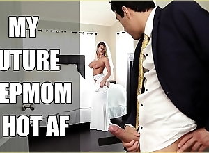 Bangbros - better half milf brooklyn chase copulates will not hear of step young gentleman on nuptial day!