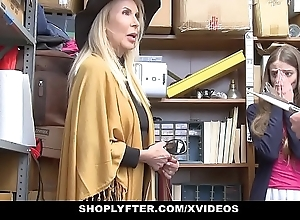 Shoplyfter - granddaughter increased by grandmother a handful of think the world of lp bureaucrat after obtaining cau