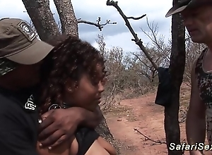 Babe punished on tap along to safari trip