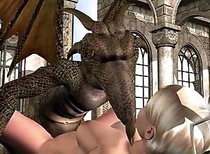 3d animation: fairy plus maunder on