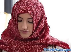 Arab stunner fucked beyond everything get under one's rub down committee
