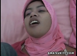 Arab tie the knot homemade oral and fuck wide facial