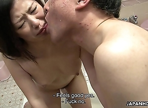 Oriental sluts drilled far dramatize expunge bath compass far a foursome