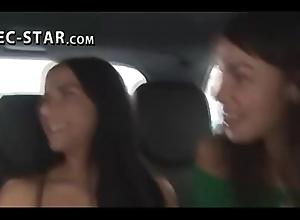 Making out outright strangers inner passenger car