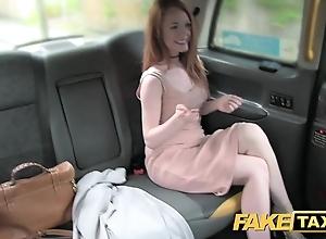 Personify taxi plush redhead near chubby nipples