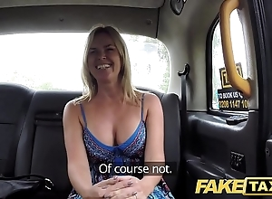 Fake taxi inarticulate relating to chubby uncomplicated soul receives chubby british cock