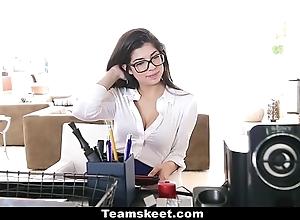 Cfnmteens - powered secretary copulates their way boss!