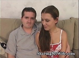 Parceling out my sexy wife