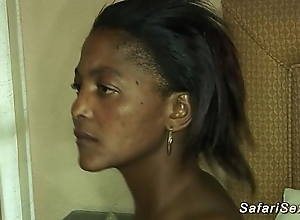 Honcho soft african babe in arms drilled