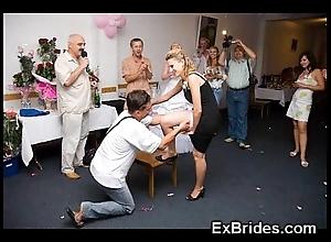 Omg outright brides voyeur pics!