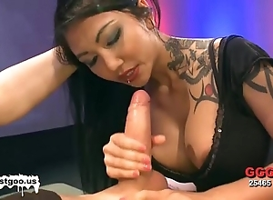 Oriental spoil with chunky confidential receives banged