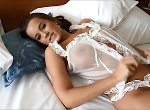 Mexican gender astounding sexy curvy bigtitted euro model!!