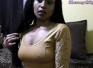 Sizzling lily - bhabhi roleplay close by hindi (diwali special)