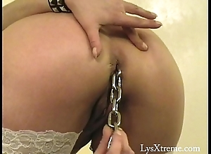 Anal toys fisting