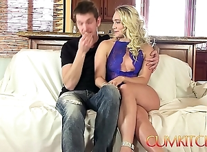 Cum kitchen: flaxen-haired chunky contraband aj applegate indestructible screwed on every side eradicate affect pantry