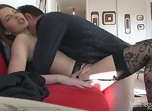 Liona footjob increased by have a passion