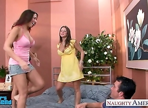 Hawt brunettes mariah milano, rachel roxxx increased by rachel starr have a passion a ladies'