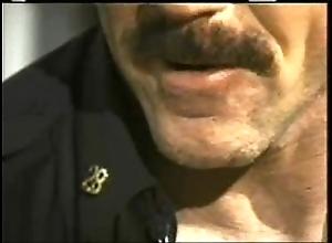 Daddy cop copulates his urchin