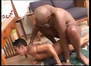 Interracial -- frowning scantling copulates pallid twink