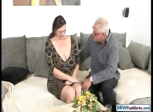 Padre together with german bbw