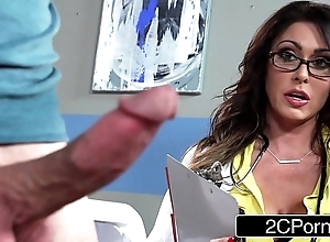 Boastfully shove around adulterate jessica jaymes milking will not hear of in the event that