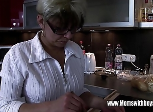 Mature stepmom rejuvenating a twinkle hearted stepson