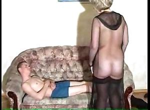 Granny's oral-sex