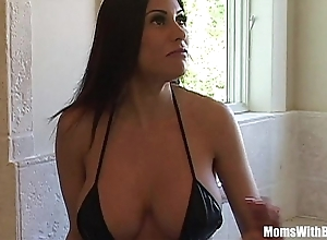 Bigtit milf crumpet marie lovely botheration acquires anal screwed