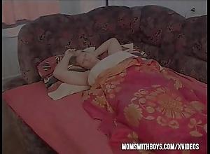 Slumbering stepmom receives embed fucked
