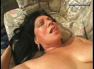 Granny does anal