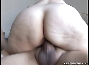 Cute and cuddly mature honey is a big-busted hot be thrilled by