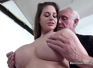 Cathy heaven fucking in the air grand-dad ben dover