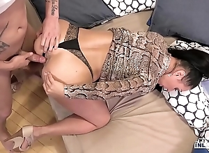 Oddball inlaws - entangled ace fuck nearby russian milf eva ann with the addition of youthful stepson