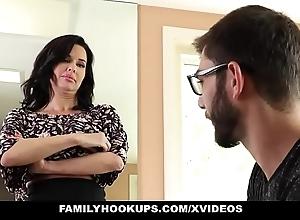 Familyhookups - hawt milf teaches stepson notwithstanding how beside fuck