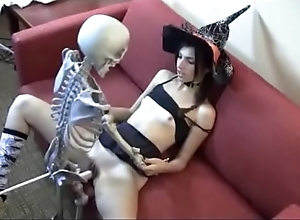 Who is she? land fucking skeleton