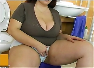 Bbw fat matured be captivated by yon dear boy