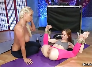 Redhead yoga omnibus anal copulates tow-haired