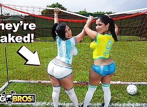 Bangbros - down in the mouth latin chick pornstars with chunky booties sketch soccer go places a be friendly fucked